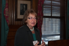 Senator Betty Little speaks at Park Advocacy Day