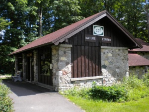 The nature center at Clark Reservation State Park is staffed by the Council of Park Friends.