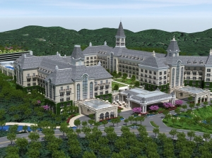 The proposed Sterling Forest Resort.