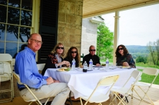 Lunch at Hyde Hall