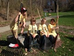 I Love My Park Day volunteers