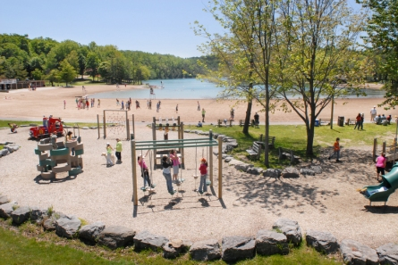 Green Lakes State Park (Central Region): It's two glacial lake beaches surrounded by upland forest give visitors to Green Lakes State Park a unique swimming experience.