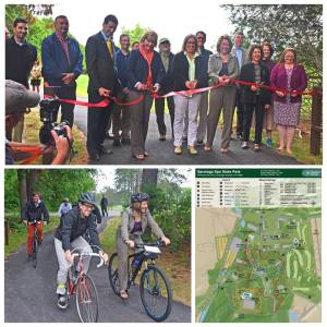Saratoga Bike Trail Ribbon Cutting