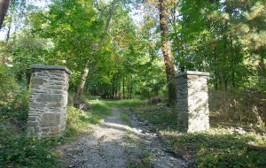 Entrance to the 19th Century Springside Estate. Courtesy Springside Landscape Restoration.