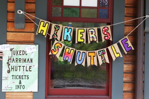 A new hikers shuttle takes car-less hikers to nearby trails in Harriman State Park.
